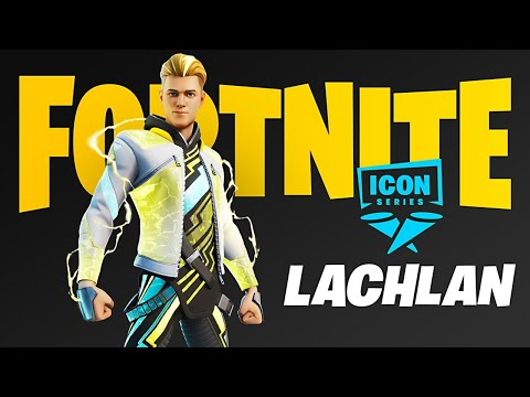 New LACHLAN Skin EARLY! (Fortnite Battle Royale)