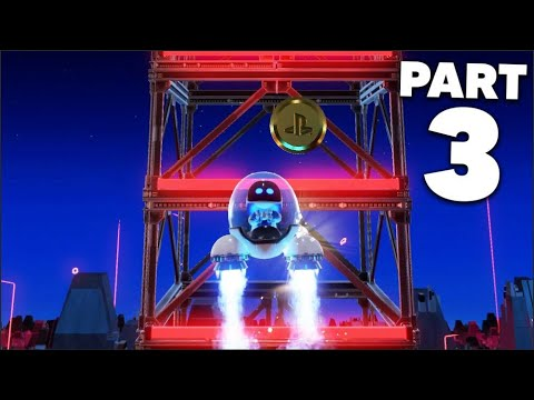 ASTRO'S PLAYROOM PS5 Gameplay Walkthrough Part 3 - SSD SPEEDWAY