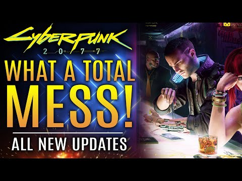 Cyberpunk 2077 - News Update!  What A Total Mess!  New Accusations About Crunch Misinformation!
