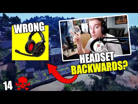 How Important is a Headset? | Backwards Headset!  PUBG Xbox/PS4