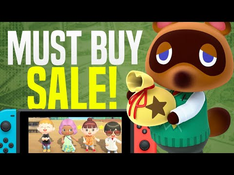 MUST BUY Nintendo Switch Games on Sale RIGHT NOW! (Switch eShop Deals and Sales!)