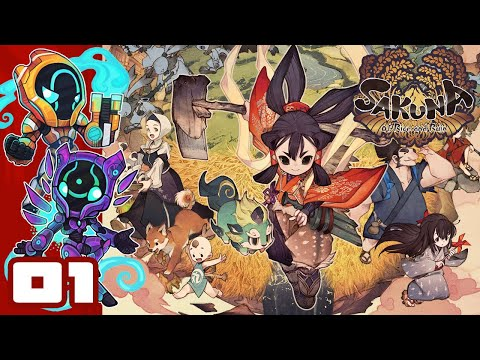I Am A Rice-Powered Fighting Machine! - Let's Play Sakuna: Of Rice And Ruin - PC Gameplay Part 1