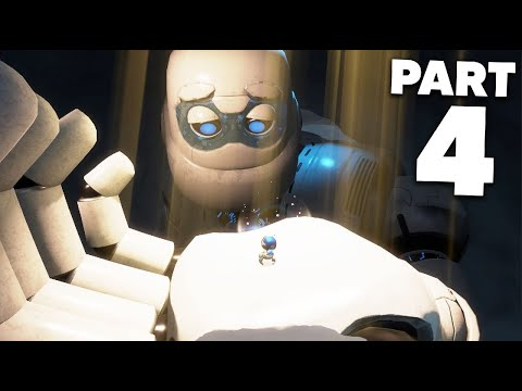 ASTRO'S PLAYROOM PS5 Gameplay Walkthrough Part 4 - MEMORY MEADOW
