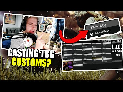 Casting TheBeardGuys Customs? PUBG XBOX/PS4 Gameplay!