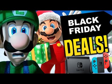 Nintendo Switch Black Friday 2020 Deals and Sales on eShop!