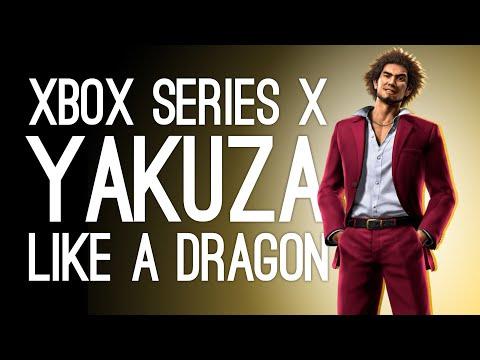 Yakuza Like a Dragon Xbox Series X Gameplay: PIGEONS! TRASH! PERMS!