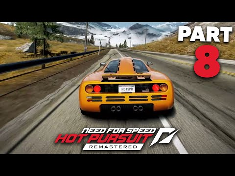 NEED FOR SPEED HOT PURSUIT REMASTERED Gameplay Walkthrough Part 8 - McLaren F1