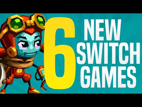 6 NEW Nintendo Switch Games JUST ANNOUNCED Coming to Nintendo eShop! (Switch Release Update)
