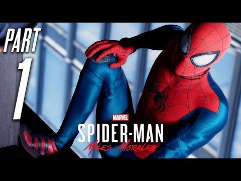 SPIDER-MAN MILES MORALES PS5 Gameplay Walkthrough Part 1 - INTRO (Playstation 5)