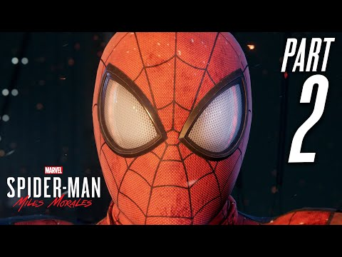 SPIDER-MAN MILES MORALES PS5 Gameplay Walkthrough Part 2 - NEW SUIT (Playstation 5)