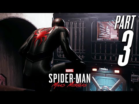 SPIDER-MAN MILES MORALES PS5 Gameplay Walkthrough Part 3 - UNCLE (Playstation 5)