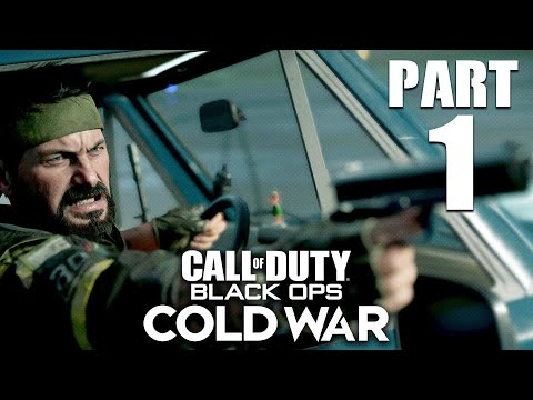 CALL OF DUTY BLACK OPS COLD WAR Gameplay Walkthrough Part 1 - INTRO (PlayStation 5)