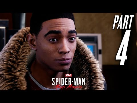 SPIDER-MAN MILES MORALES PS5 Gameplay Walkthrough Part 4 - UNDERCOVER (Playstation 5)