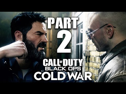 CALL OF DUTY BLACK OPS COLD WAR Gameplay Walkthrough Part 2 - RED LIGHT, GREENLIGHT (PlayStation 5)