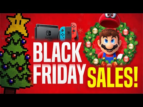BEST Black Friday 2020 Nintendo Switch Deals and Sales Roundup!