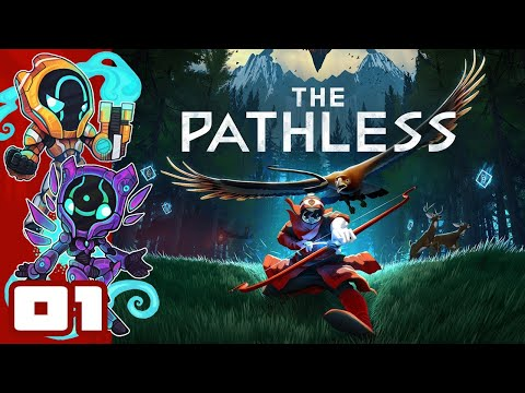 You Can Pet The Bird!  - The Pathless - PC Gameplay Part 1