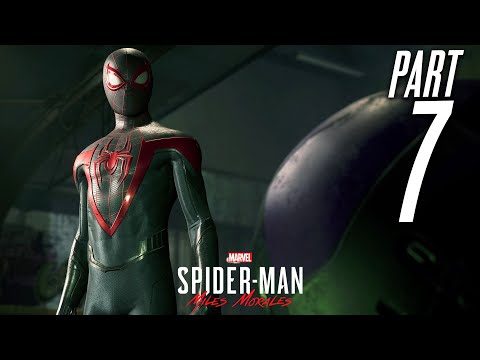 SPIDER-MAN MILES MORALES PS5 Gameplay Walkthrough Part 7 - PROWLER (Playstation 5)