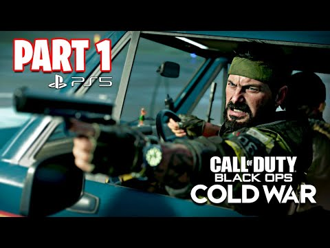 Call of Duty: Black Ops Cold War PS5 Campaign Gameplay Walkthrough, Part 1!