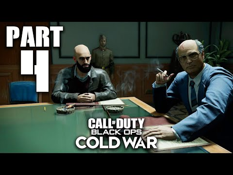 CALL OF DUTY BLACK OPS COLD WAR Gameplay Walkthrough Part 4 - UNDERCOVER (PlayStation 5)