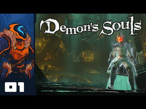 Wander Cast Alakablam! It Was Super Effective - Let's Play Demon's Souls Remake - Part 1