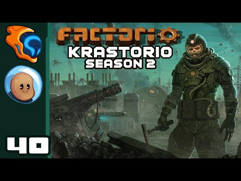 Gotta Go Fast! - Let's Play Factorio [Krastorio S2 | @Orbital Potato] - Part 40