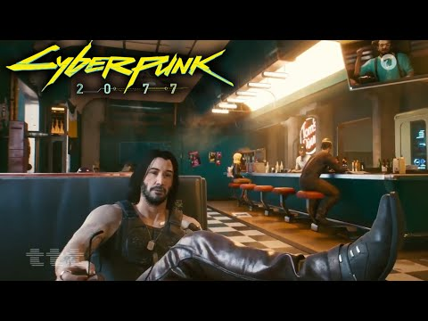 Cyberpunk 2077 - All New Gameplay! S*x Shop! Character Customization, Keanu Reeves, and More!