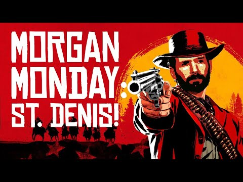 Red Dead Redemption 2 MORGAN MONDAY: STYLIN' IN ST. DENIS! (Let's Play RDR2 Ep. 14)