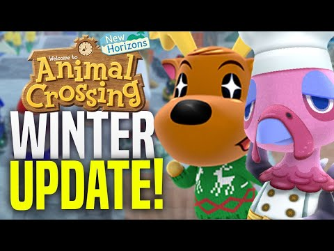 RIP BREWSTER!? REACTION Animal Crossing 1.6 Winter Update Details! (ACNH Update New Horizons 1.6)