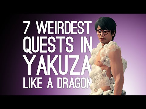 7 Weirdest Yakuza: Like a Dragon Quests That Were Bizarre Even by Yakuza Standards