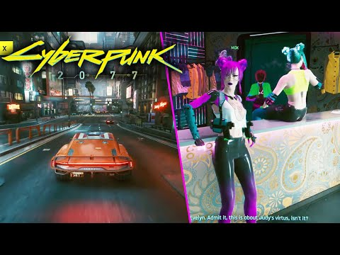 Cyberpunk 2077 - New Gameplay Walkthrough! 10 Minutes of Combat, Free Roam on Xbox Series X Xbox One