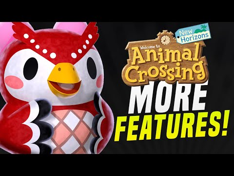 THEY DIDN'T SHOW...Animal Crossing 1.6 Update Features! MORE SECRETS! (ACNH Update New Horizons)