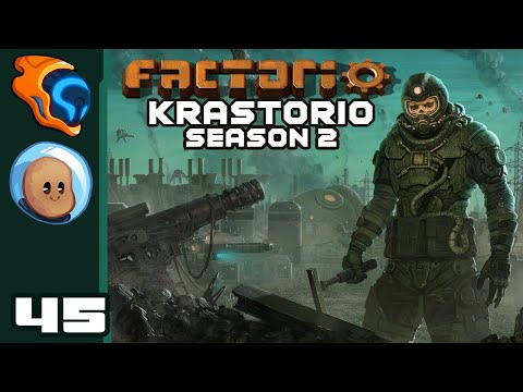 Angry Robot Booping - Let's Play Factorio [Krastorio S2 | @Orbital Potato] - Part 45