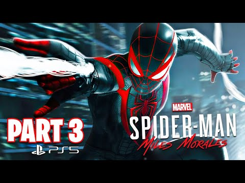Spider Man: Miles Morales PS5 Gameplay Walkthrough, Part 3! (Ending)