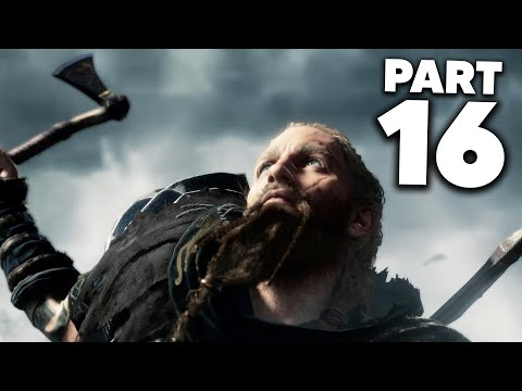 ASSASSIN'S CREED VALHALLA Gameplay Walkthrough Part 16 - HOW TO UNSEAL THE WELL IN ASGARD