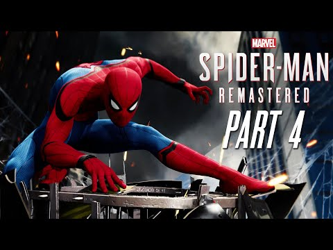 HOMECOMING SUIT - MARVEL'S SPIDER-MAN REMASTERED Gameplay Walkthrough Part 4 (PlayStation 5)