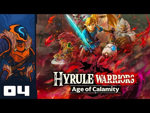 I Get To Drive The Divine Beasts?! - Let's Play Hyrule Warriors: Age of Calamity - Part 4