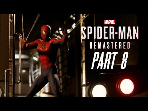MARVEL'S SPIDER-MAN REMASTERED Gameplay Walkthrough Part 8 - STOPPING A TRAIN (PlayStation 5)
