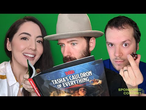 D&D Stream! 7 Best Characters You Can Make with Tasha's Cauldron of Everything  (Sponsored Content)