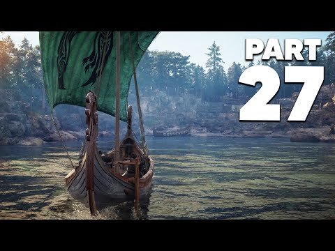 ASSASSIN'S CREED VALHALLA Gameplay Walkthrough Part 27 - VINLAND (GOING TO AMERICA)