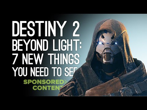 Destiny 2 Beyond Light: 7 New Things Returning Destiny Players Need To See (Sponsored Content)