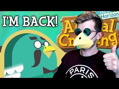 I'M BACK, AFTER THE HACK! Animal Crossing New Horizons NEW Update Designs! ACNH Tips and Tricks!