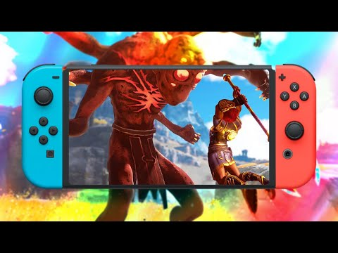 Immortals Fenyx Rising: WORTH $60 ON NINTENDO SWITCH? Immortals PS5 vs. Switch Performance Review