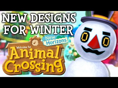 WINTER DESIGN EXPERT! Animal Crossing New Horizons NEW Update! ACNH Tips and Tricks!