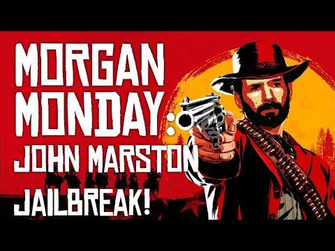 Red Dead Redemption 2 MORGAN MONDAY: JOHN MARSTON JAILBREAK! (Let's Play RDR2 Ep. 17)