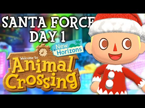 SANTA FORCE DAY 1! Animal Crossing New Horizons NEW Update! ACNH Tips and Tricks!