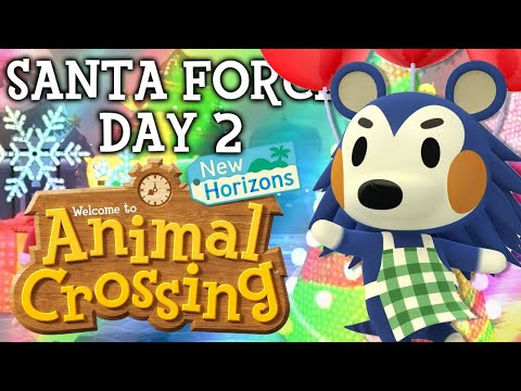 SANTA FORCE DAY 2! Animal Crossing New Horizons NEW Update! ACNH Tips and Tricks!