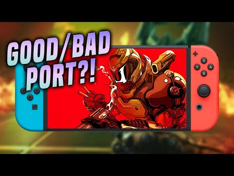 Is The Switch DOOMed?! (DOOM Eternal Switch Review - IS IT WORTH IT?! on Nintendo Switch)