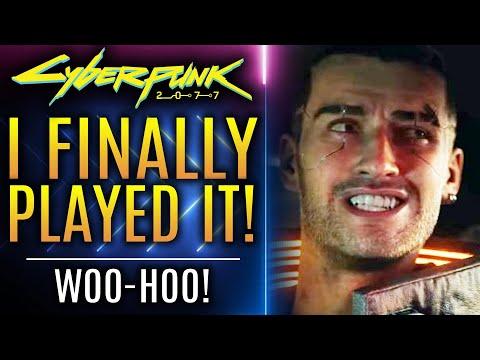 Cyberpunk 2077 - I Finally Played It!  Woo-hoo! :D