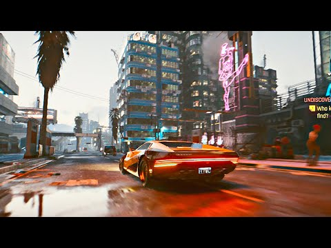 CYBERPUNK 2077 - All Cars Compilation [60 FPS]