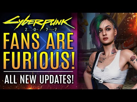 Cyberpunk 2077 - FANS ARE FURIOUS!  How to Fix Graphics Issues on PC, PS5, PS4 and Xbox Series X!